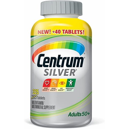 Centrum Silver Adults Multivitamin Tablets (325 ct.) Centrum Silver Adults Multivitamin Tablets (325 ct.)
