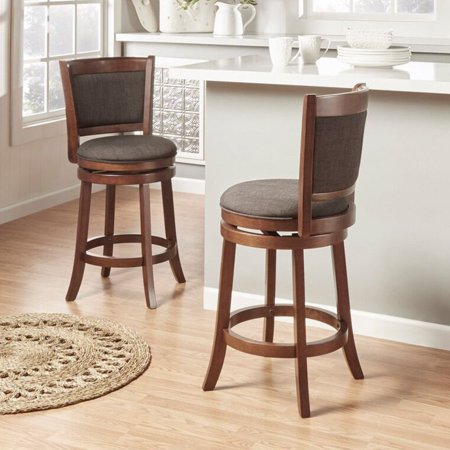 Shapel Collection 24 In Swivel Counter Height Stool