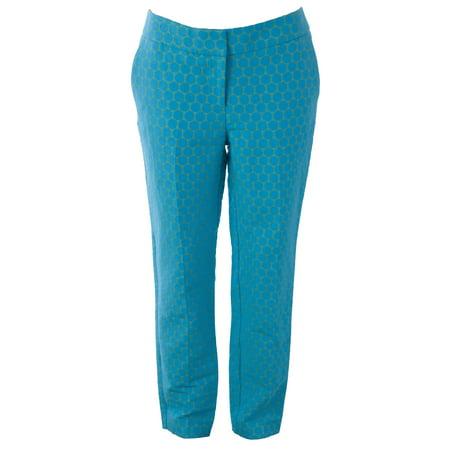 BODEN Women's Circles Bistro Crop Trousers US Sz 4L