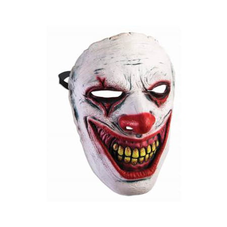FRONTAL MASK - EVIL CLOWN - It Clown Halloween Mask