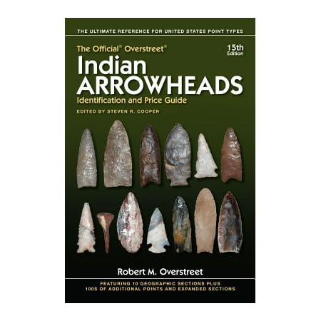Hardware Price Guide - The Official Overstreet Indian Arrowheads Identification and Price Guide