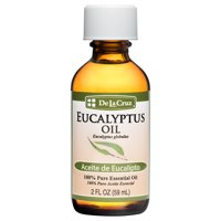 De La Cruz Pure Eucalyptus Essential Oil, 2 FL Oz