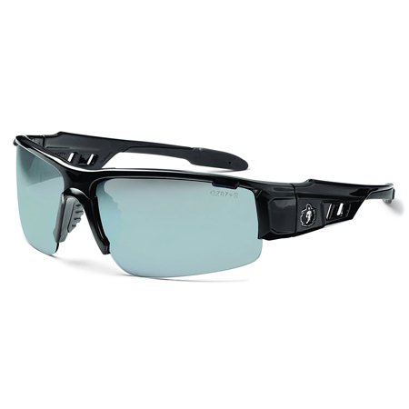 05880859fab Ergodyne - Skullerz Dagr Safety Sunglasses - Black Frame
