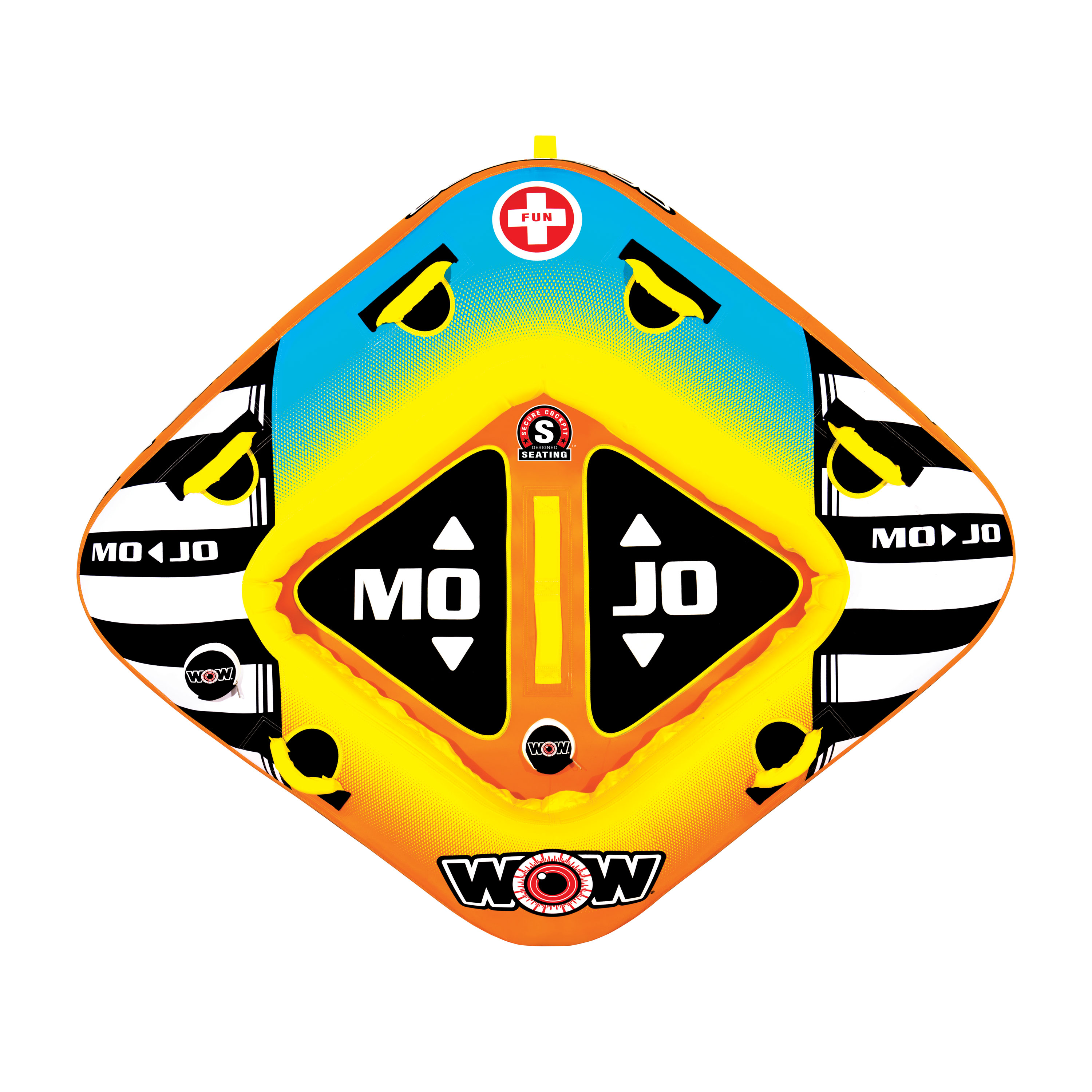 Wow Sports 16-1060 Towable Wow Mojo 1-2 Person