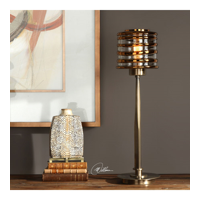Table Lamps 1 Light With Plated Antique Brass Finish Glass Metal Matw Williams 29 inch 100 Watts