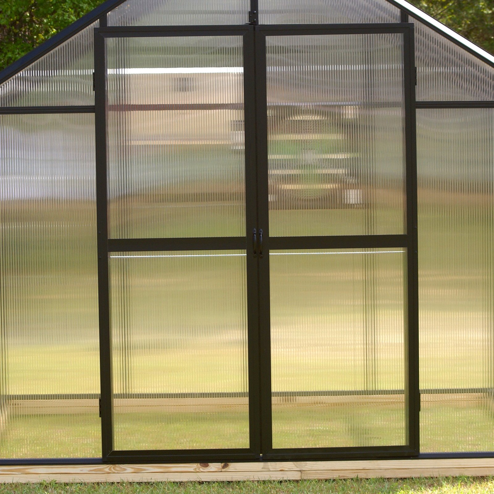 Riverstone Industries Monticello Hinged Greenhouse Doors by Riverstone Industries