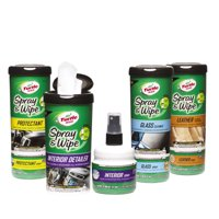 Turtle Wax Spray & Wipe Car Interior Wipes (Interior Care Kit)