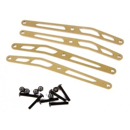 Axial Racing #AX31244 Upper Link Plate Set (aluminum) (4pcs) for Axial Yeti