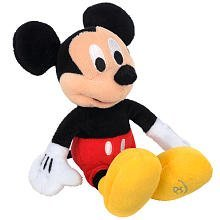 Disney 8.5 inch Mini Plush Mickey by Mickey Mouse & Friends by