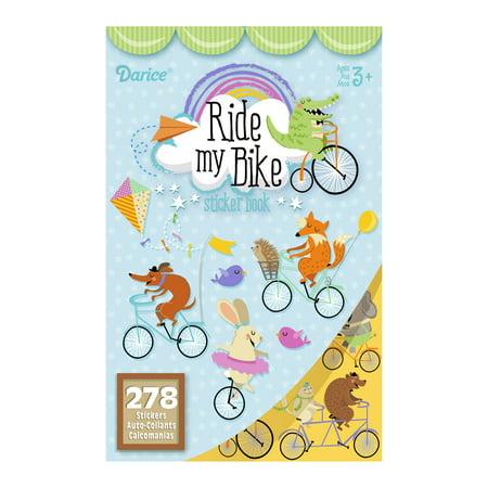 Sticker Book Ride My Bike