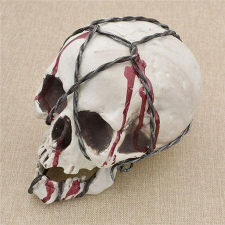 Halloween Skull Prop Skeleton Life Size Head Model Anatomical Medical Home Décor