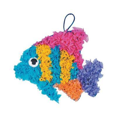Crinkle Tissue Paper Tropical Fish Craft Kit By Fun Express