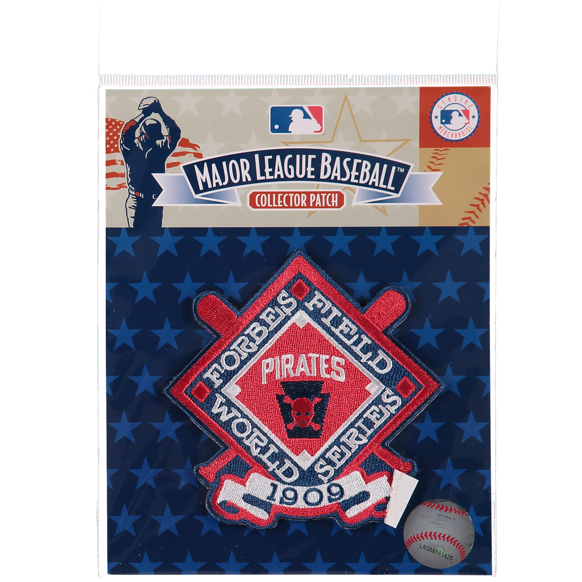 "Pittsburgh Pirates 4.5"" x 3.5"" 1909 World Series Patch - No Size"