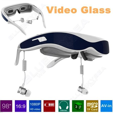 98″ 1080P HDMI 3D Virtual Glasses Private Theater F Smartphone PC PS3 PS4 Xbox