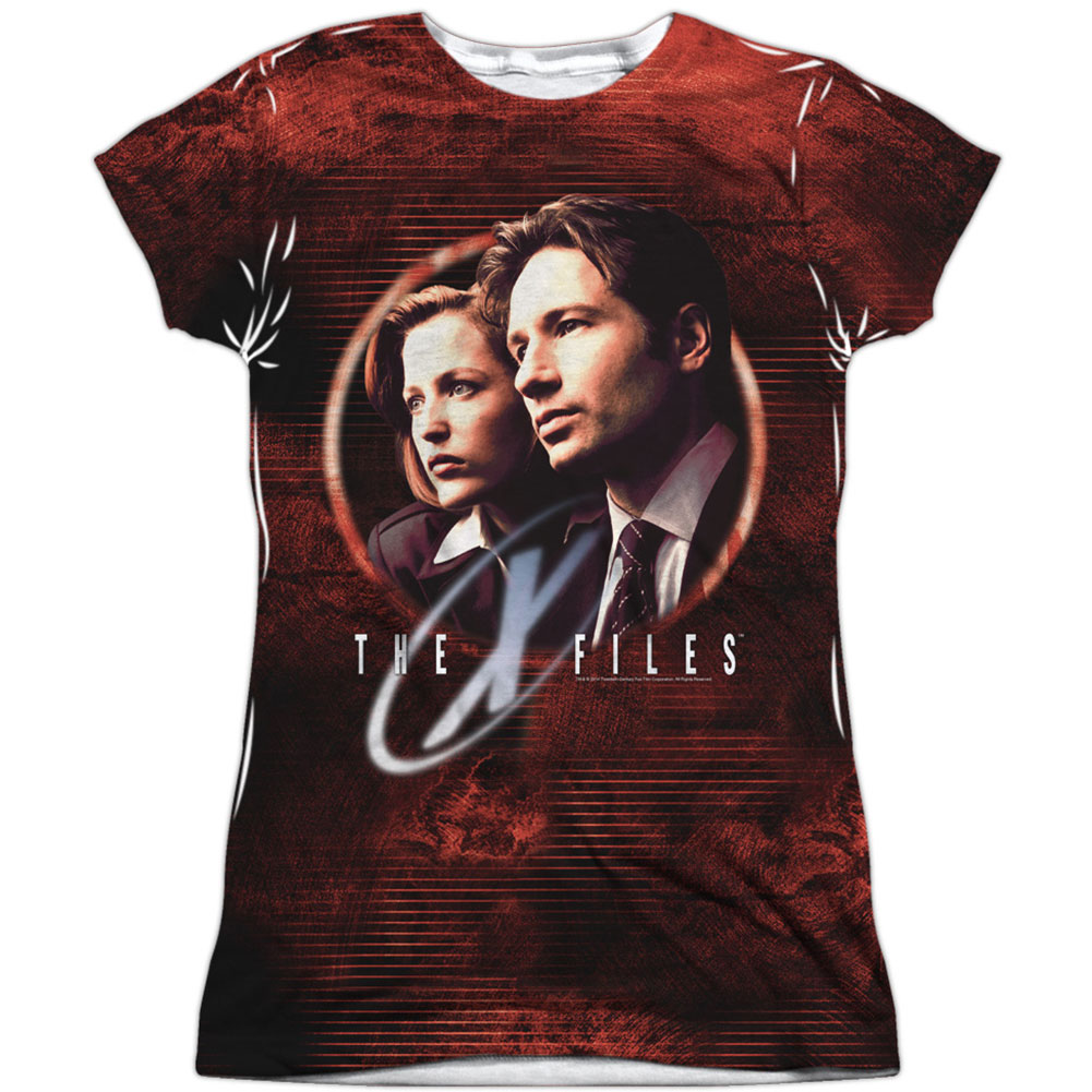 X Files  Truth Seekers Girls Jr Sublimation White