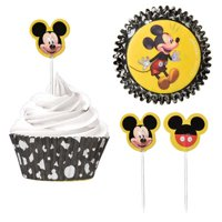 Mickey Mouse 'Forever' Cupcake Kit for 24 (48pc)