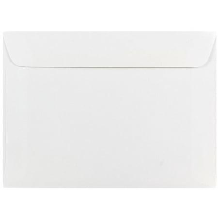 5.5 Bar Envelopes (JAM Paper 5 1/2 x 7 1/2 Booklet Envelopes, White, 50/Pack)