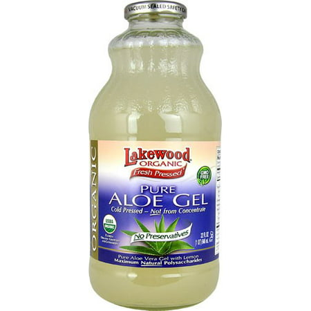lakewood organic pure aloe vera gel 32 ounce. Black Bedroom Furniture Sets. Home Design Ideas