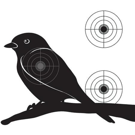 Practice Shooting Targets - Bird Target Paper Practice Shooting Targets
