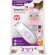 SmartyKat® Racin` Rascal™ Mouse & Remote Control with Laser Cat Toy