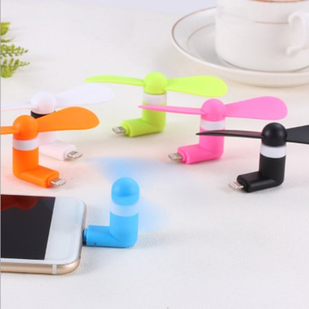 For Android Portable Cool Micro USB Fan Mobile Phone USB Fans Low Voice Fan - image 1 of 6