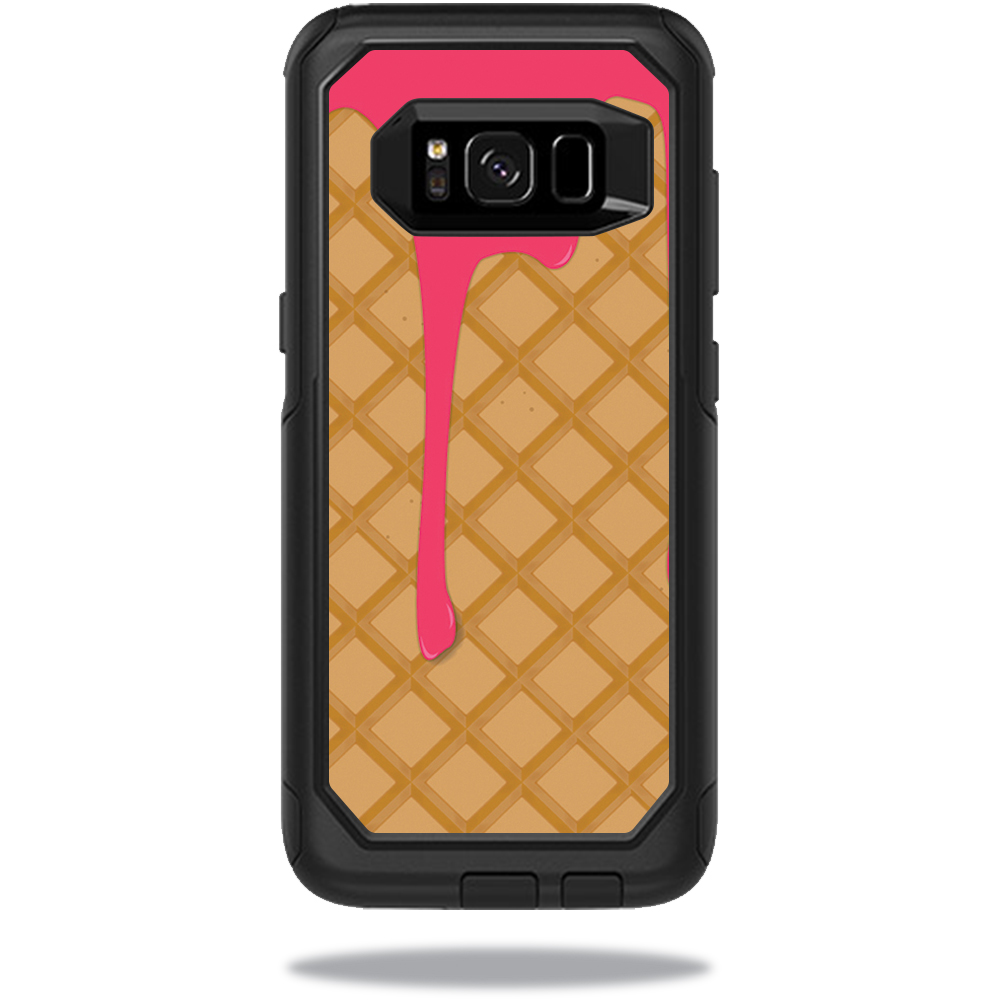 MightySkins Protective Vinyl Skin Decal for OtterBox CommuterSamsung Galaxy S8 Case sticker wrap cover sticker skins Ice Cream Cone