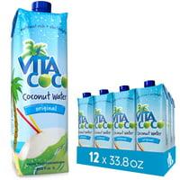 Vita Coco Coconut Water, Pure, 33.8 Fl Oz, 12 Count
