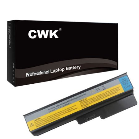 CWK 9 Cell High Capacity Laptop Notebook Battery for IBM Lenovo IdeaPad IdeaPad G430 20003 3000 G550 3000 G430 G450 G455 G530 G550 G555 N500 B460 B550 3000 G430 G450 G530 G550