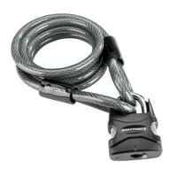 Kryptonite Lockdown Padlock & 12mm Cable Bicycle Lock