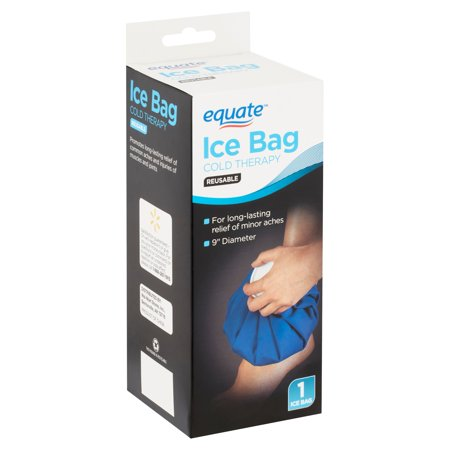Ice Bag Cold Therapy (Equate Reusable Cold Therapy Ice Bag)
