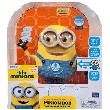 Minion Talk (Despicable Me Minions Minion Bob Action Figure [Interactive)