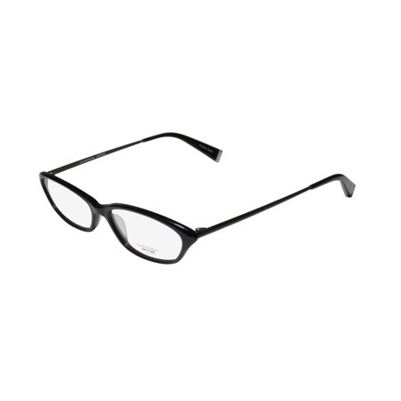 New Oliver Peoples Trudi Womens/Ladies Cat Eye Full-Rim Black Beautiful Trendy Cat Eye Frame Demo Lenses 52-14-140 Eyeglasses/Eyeglass (Oliver Peoples Optical)