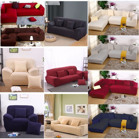 Super Stretch Sofa Slipcover 1 2 3 Seater 2 Seat 3 Seat 3 Seat 3 Seat Elastic Sofa Cover Couch Pure Color Anti Wrinkle Sofa Protector Furniture Pdpeps Interior Chair Design Pdpepsorg