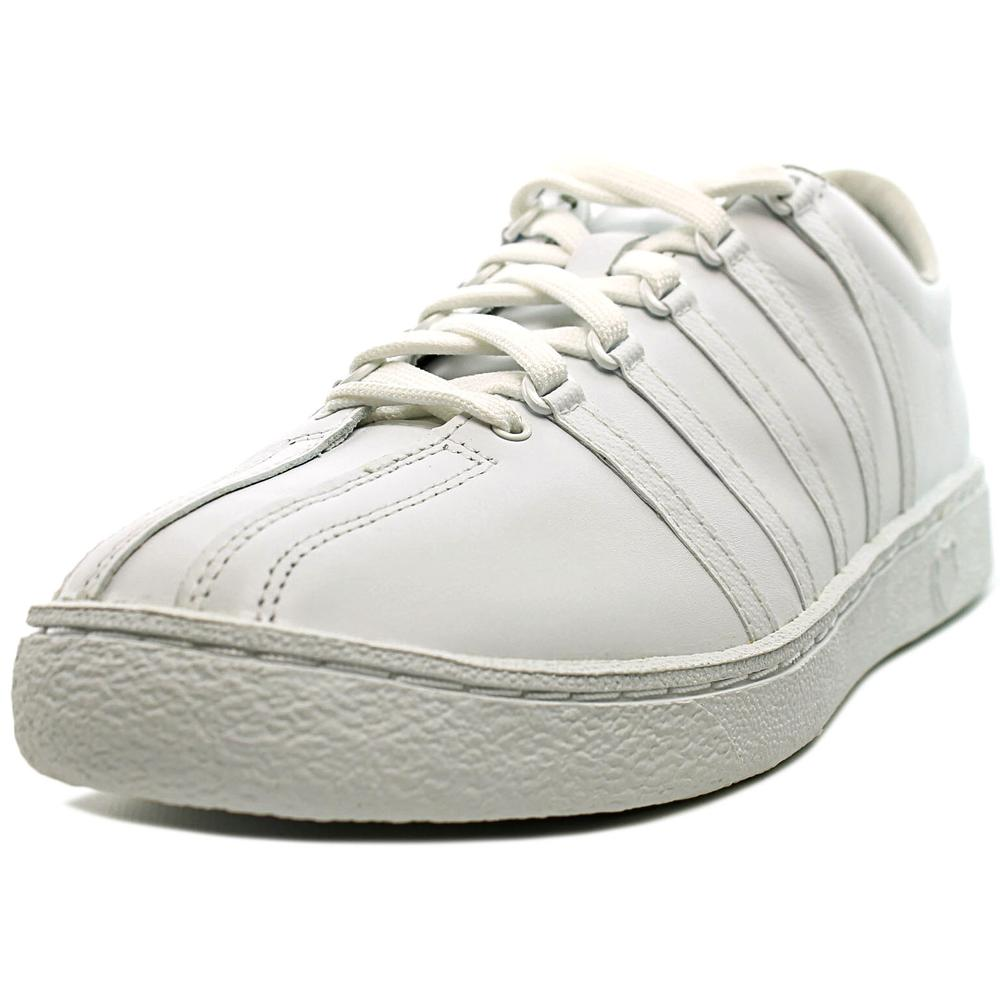 K-Swiss Classic 66 Men Round Toe Leather Tennis Shoe by K-Swiss