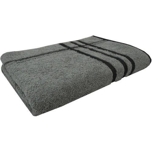 Mainstays Basic Stripe Bath Towel, 1 Each