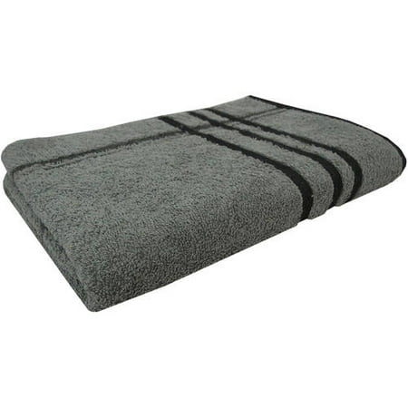 Mainstays Basic Stripe Bath Towel, 1 Each