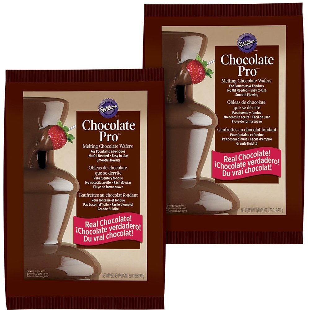 Wilton Melting Chocolate for Pro Fountain & Fondue, 2 lbs. (2-Pack)