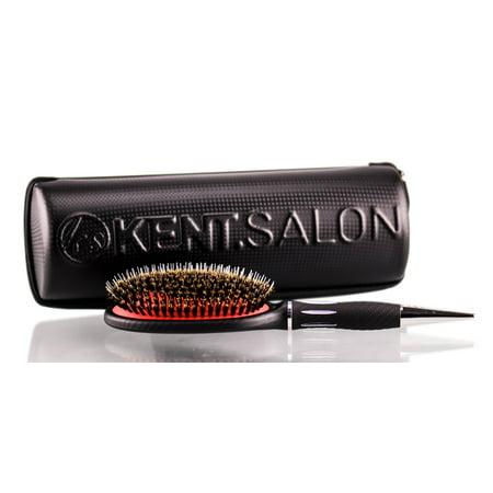 Kent 100% Boar Bristle Nylon Paddle Brush - KS01 - Option : KS01