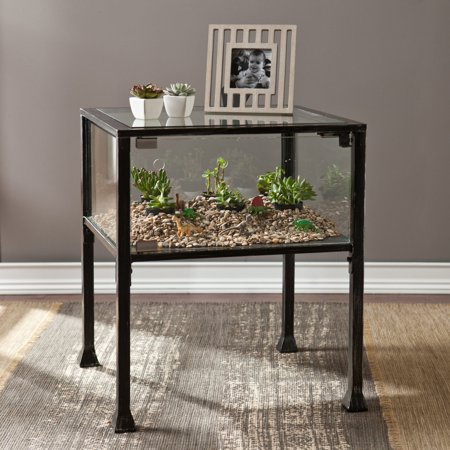 Southern Enterprises Terrarium End Table