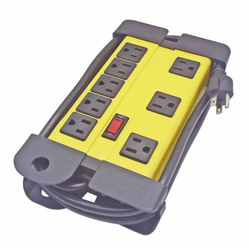 WORKCHOICE SJTW 14/3 8 Outlet Power Strip