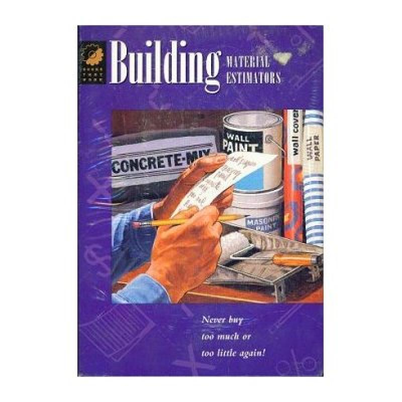 Building Material Estimators (Win)