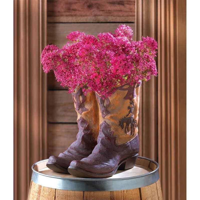 Zingz and Thingz Cowboy Boot Planter