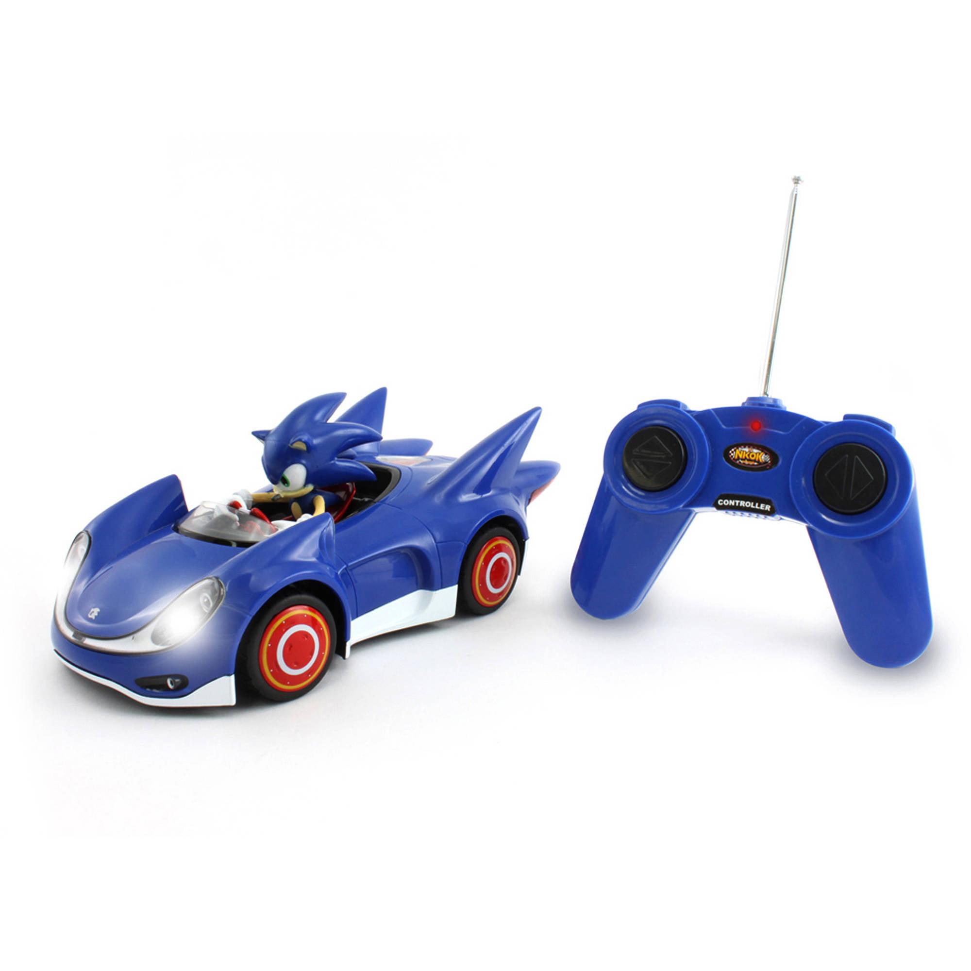 Sonic The Hedgehog And Sega All Stars Racing Radio Control Car Walmart Com Walmart Com