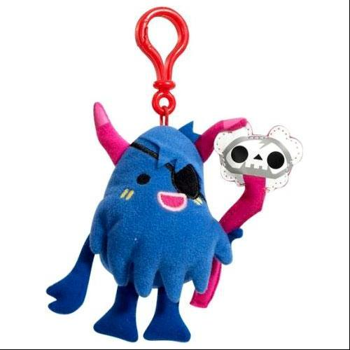 Moshi Monsters Big Bad Bill Plush Clip On