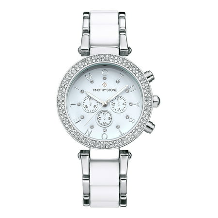 Desire Jewelry (DESIRE Silver/White Women's Design Watch)