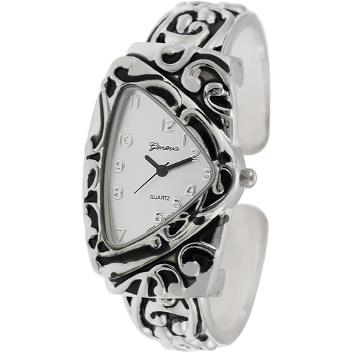 Brinley Co. Women's Triangular Face Fashion Watch