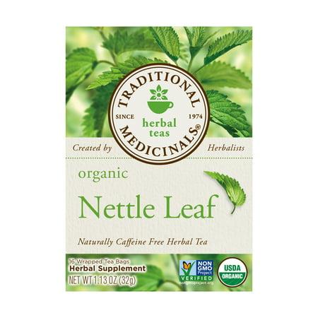 Organic Nettle Leaf Herbal Tea, 16 tea -