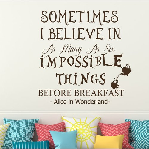 Decal House Alice in Wonderland Wall Decal