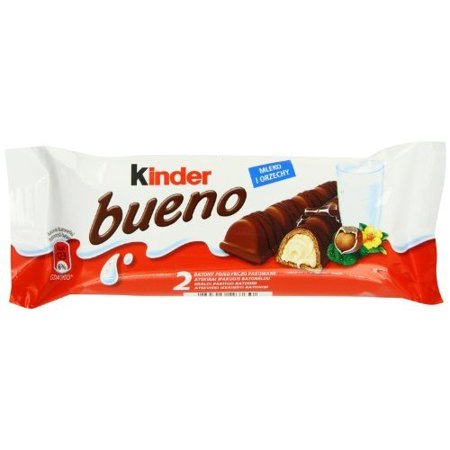 Ferrero Kinder Bueno Wafer Cookies, 1.5 Ounce (43 g) (Pack of 30) Kinder Bueno Candy
