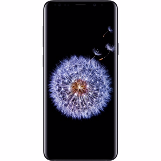 Total Wireless Samsung Galaxy S9 LTE Prepaid Smartphone, Black.